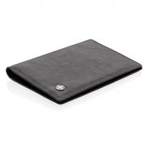 RFID anti-skimming paspoort houder - zwart