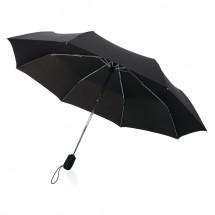 """Traveler 21"""" automatische paraplu - zwart"""