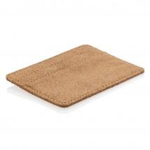 ECO kurk RFID mini portemonnee - bruin