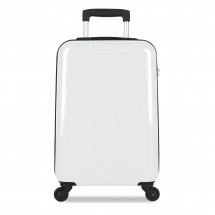 20 trolley (4 wheels), including full colour sticker-White