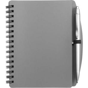Notitieboekje (A6) incl. plastic balpen 'Spektrum'