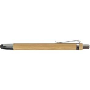 Bamboe balpen met stylus