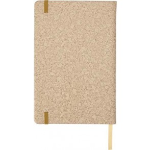 PU notitieboekje A5 met kurk print