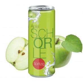 "Apfelspritzer ""sprankelend"", 250 ml, Fullbody"