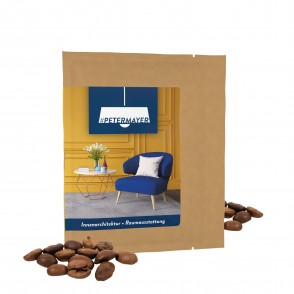 CoffeeBag - Bio Céo (cafeïnevrij) - Individueel Design, natuurbruin