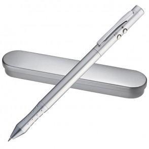 Laserpointer + LED met pen + touchscreenpen
