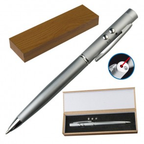 Laserpointer + LED met pen