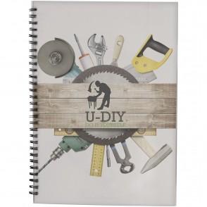 Desk-Mate® A4 wire-o notitieboek met PP-omslag