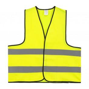 Veiligheidsvest Polyester XL Oranje Per Stuk in Po