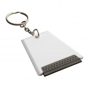 Ijskrabber met sleutelhanger REFLECTS-ALSIP WHITE