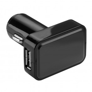 USB car charger REFLECTS-KOSTROMA BLACK/WHITE