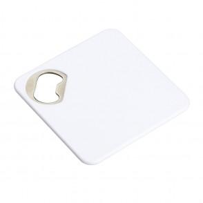 Onderzetter met flesopener REFLECTS-ALGECIRAS WHITE