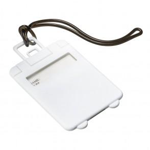 Kofferlabel REFLECTS-VILLARICA WHITE