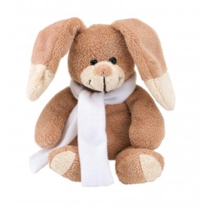 Plush rabbit Paul with scarf