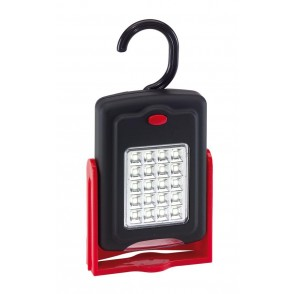 Work light with magnet WORKSHOP, red