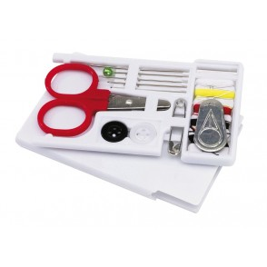 Sewing kit in box Tailor, white