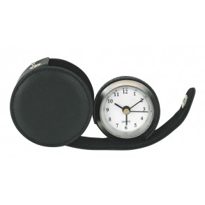 Metal alarm clock,Carpe Diem, black
