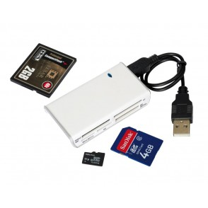 Card reader, Dwarf, white