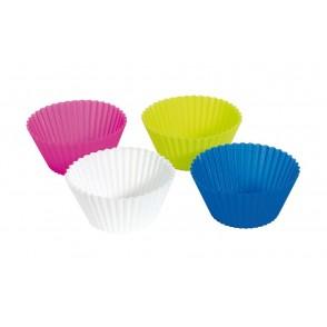 Silicon - Baking form, 4 pcs. Cupcake