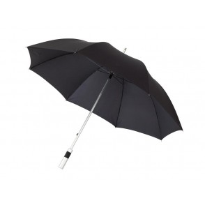 Alu-golf umbrella Satelite, black