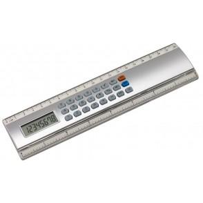 """Ruler-calculator """"Calculine"""",20cm, silv."""