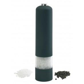 Electric pepper mill, black w/ light