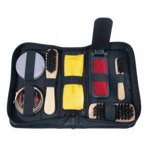 Shoe care set Polish,7ps,,black
