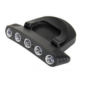Cap Light with 5 LED Super Nova
