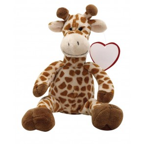 Plush-giraffe Maurice,brown
