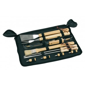 barbecue-set pouch10pcs,wo.handleFried
