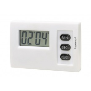 LCD timer w/ magnet, Magnetic white