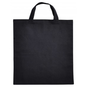 Cotton Bag Kort Hengsel Ecru acc. Ecru