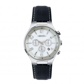 Chronograph REFLECTS-CLASSIC bruin/wit