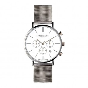 Chronograph REFLECTS-BUDGET zilver/blauw
