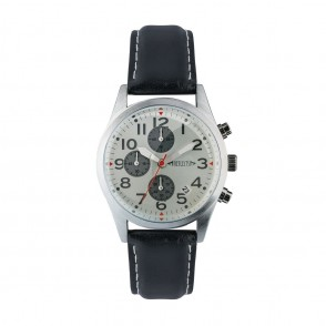 Chronograph REFLECTS-PILOT zwart/zwart