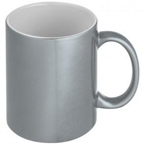 Metallic glanzende koffiemok