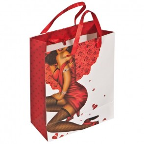 Geschenkverpakking man/vrouw met steentje