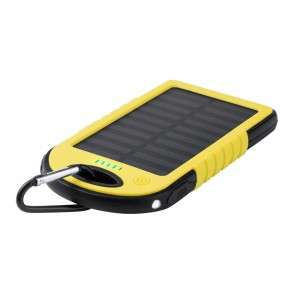 USB Power bank met zonne energie lader Lenard