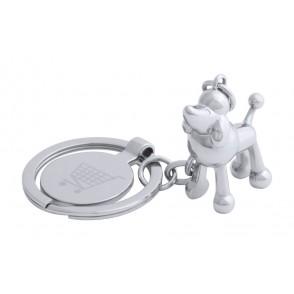 winkelwagenmuntje sleutelhanger, hond ''Hoinzo''