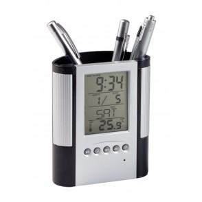Pennenhouder Met Klok, Thermometer Loris