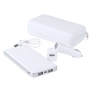 Usb Power Bank En Lader Set Atazzi