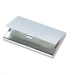 Aluminium visitekaarthouder EPSOM
