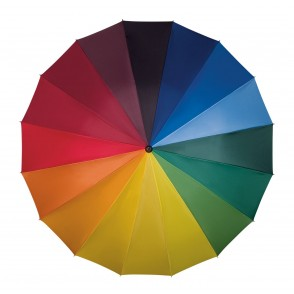 Falcone® paraplu, regenboogkleuren