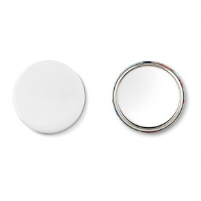Metalen button MIRROR