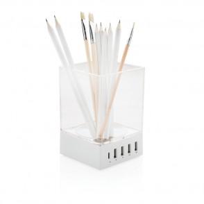 Pennenbakje met USB oplader