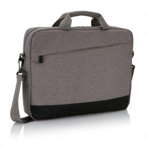 """Trend 15"""" laptop tas, grijs/zwart"""