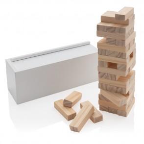 Deluxe houtblok stapelspel
