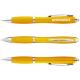 Nash Kugelschreiber mit farbigem Schaft und Griff - gelb