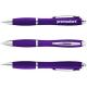 Nash Kugelschreiber mit farbigem Schaft und Griff - lila