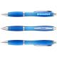 Nash balpen met transparante gekleurde grip - midden blauw